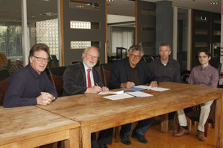 Ondertekening waterplan